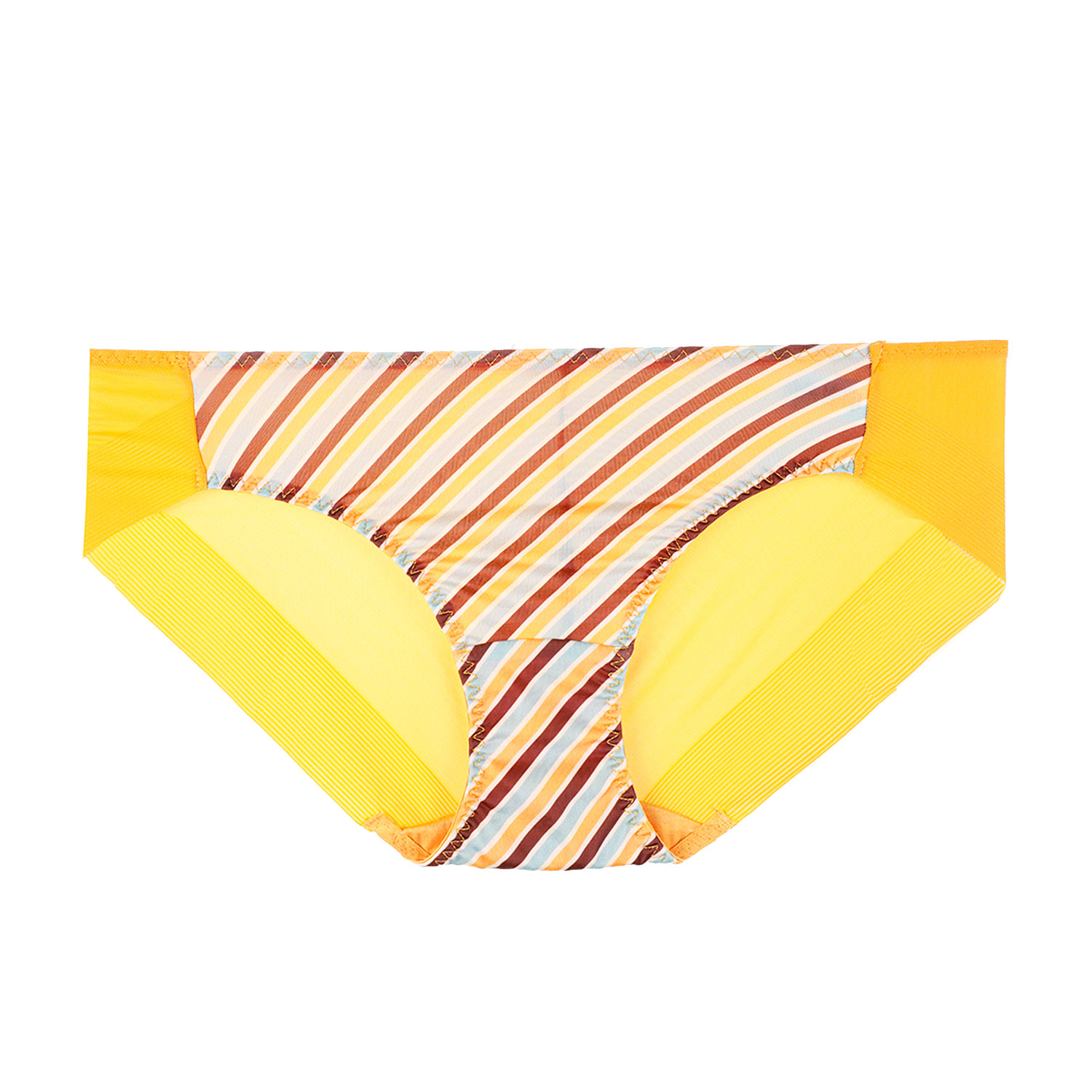 Retro Stripe hem panties